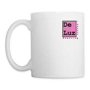 De Luz Coffee pink logo - Coffee/Tea Mug