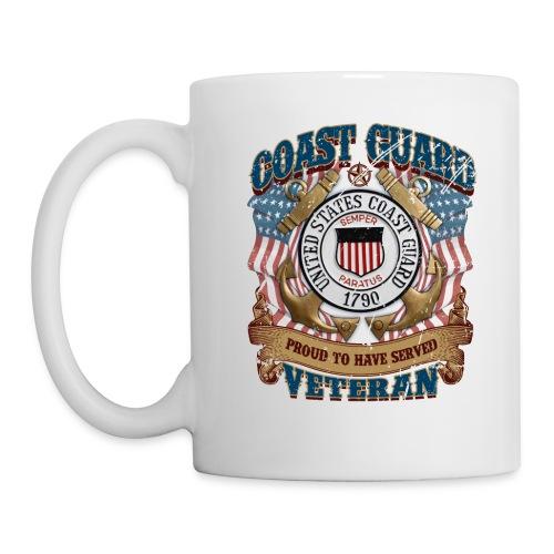 US COAST GUARD PROUD TO HAVE SERVED VETERAN - Coffee/Tea Mug