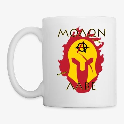 Molon Labe - Anarchist's Edition - Coffee/Tea Mug