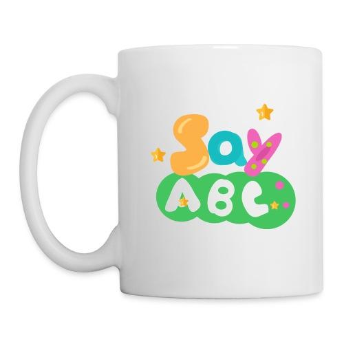 Men's SayABC T-shirts - Coffee/Tea Mug