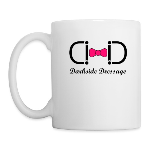 Darkside Dressage Logo - Black letters- Limited! - Coffee/Tea Mug