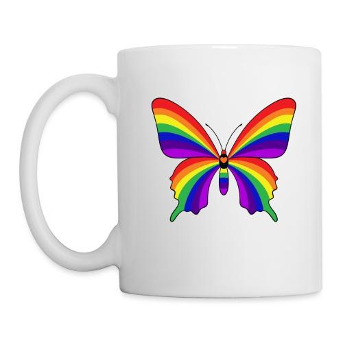 Rainbow Butterfly - Coffee/Tea Mug
