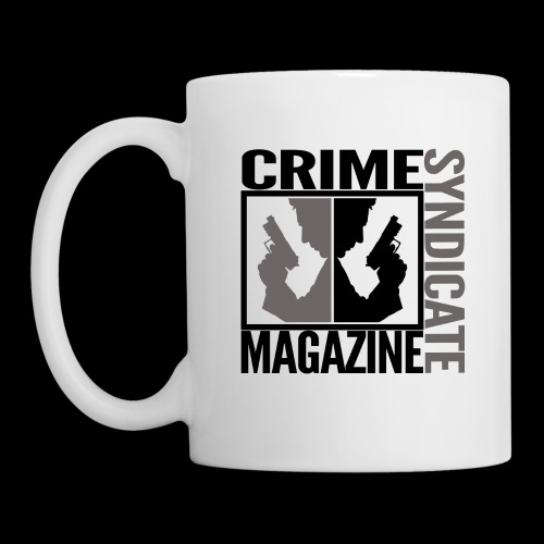 CRIME SYNDIATE MAGAZINE LOGO (No Background) - Coffee/Tea Mug