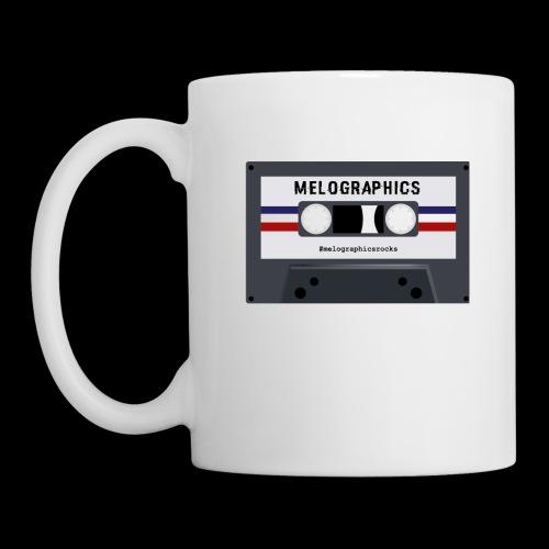 Retro Cassette #melographicsrocks - Coffee/Tea Mug
