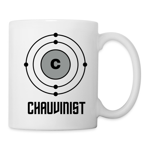 Carbon Chauvinist Electron - Coffee/Tea Mug