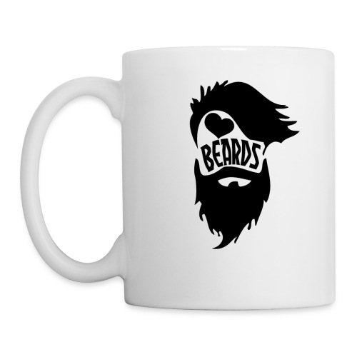 I Love Beards - Coffee/Tea Mug