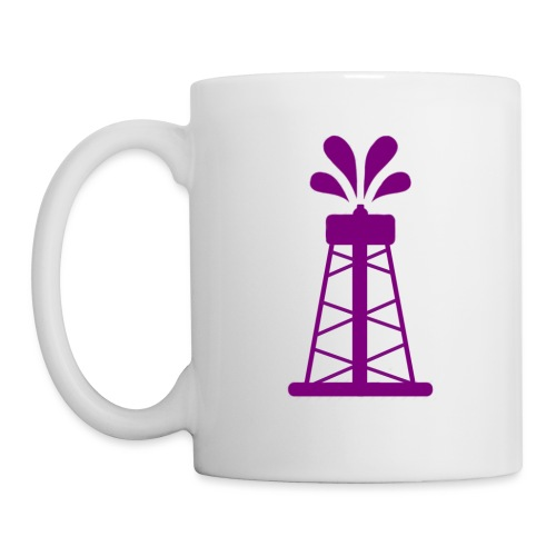 Oil Derrick - Coffee/Tea Mug