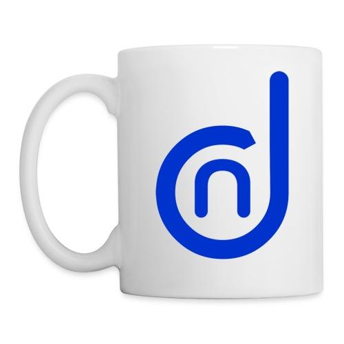 DCN (Direct Cannabis Network Logo -Blue) - Coffee/Tea Mug