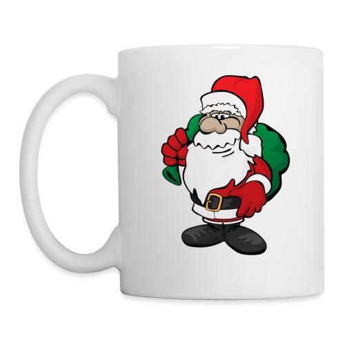 Santa Claus Cartoon Illustration - Coffee/Tea Mug