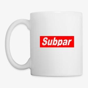 Subpar - Coffee/Tea Mug