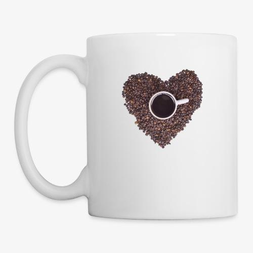 I Heart Coffee Black/White Mug - Coffee/Tea Mug