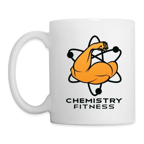 Chemistry Fitness logo (black) Long Sleeve Shirts - Coffee/Tea Mug