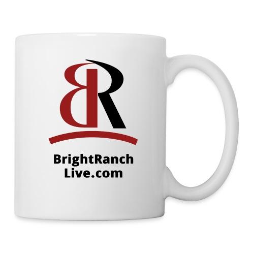 BRLogoLineRedBlack - Coffee/Tea Mug