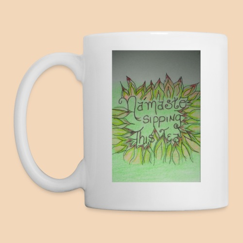 Namaste Tea Mug/w Lotus petals - Coffee/Tea Mug