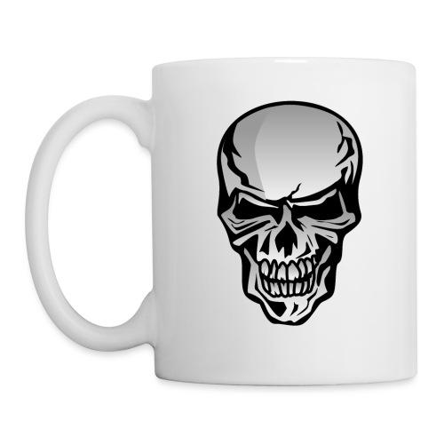 Chrome Skull Illustration - Coffee/Tea Mug