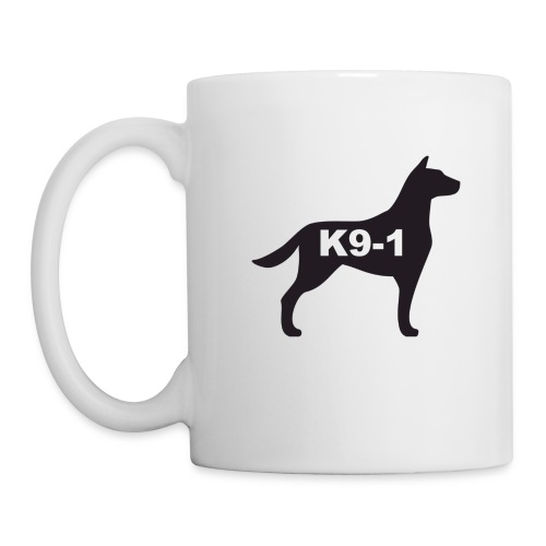 K9-1 logo - Coffee/Tea Mug