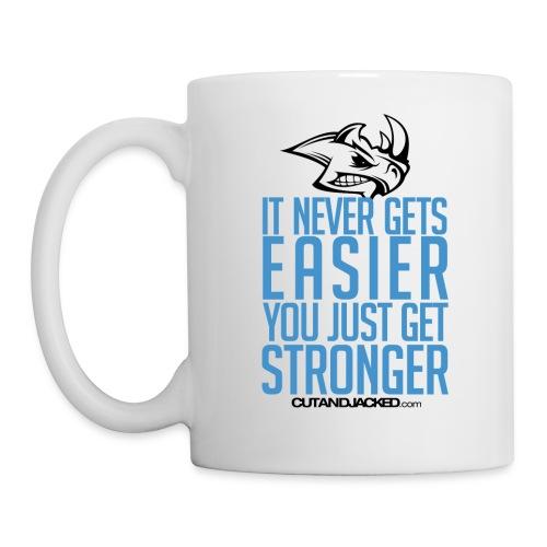 you just get stronger Gym Motivation - Coffee/Tea Mug