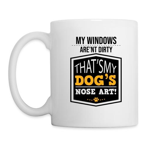 Dog Garden flag - Coffee/Tea Mug