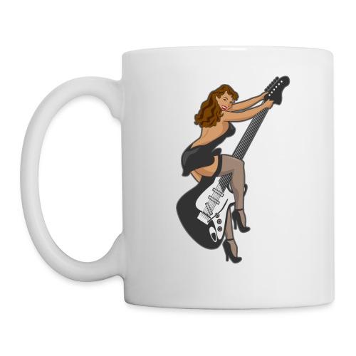 Guitar Pinup Girl - Coffee/Tea Mug