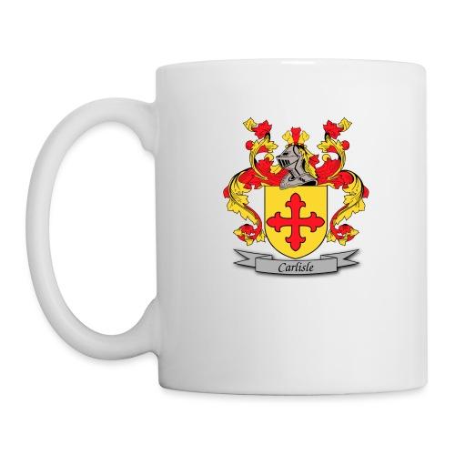 Carlisle Family Crest - Coffee/Tea Mug