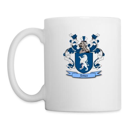 Jones Family Crest - Coffee/Tea Mug