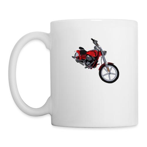 Motorcycle red - Coffee/Tea Mug