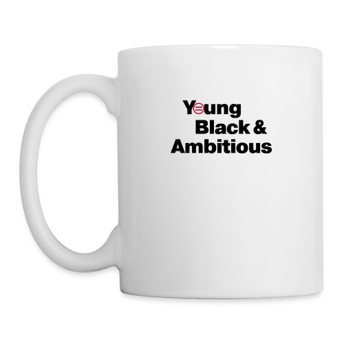 YBA white and gray shirt - Coffee/Tea Mug