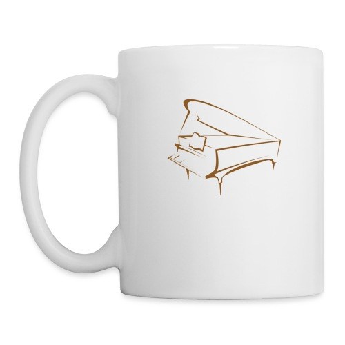 piano - Coffee/Tea Mug