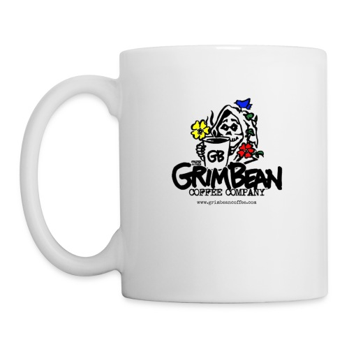 Grim Bean Coffee Company Spring Flavors Logo - Coffee/Tea Mug