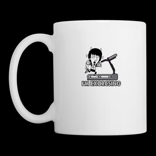 I'm Exorcising My Demon | Funny Halloween Workout - Coffee/Tea Mug