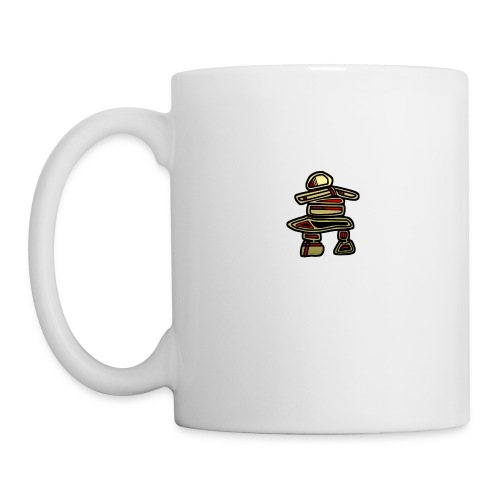 Inuksuk Totem Figure in Gold - Coffee/Tea Mug