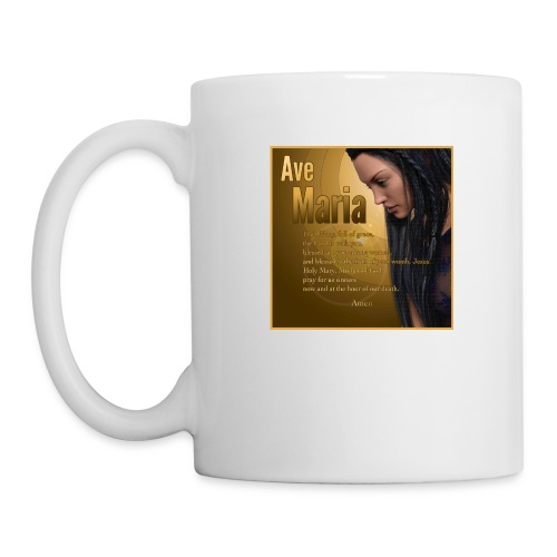 Hail Mary - Ave Maria - The prayer in English - Coffee/Tea Mug