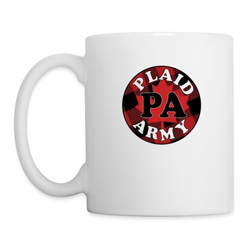 plaid army round - Coffee/Tea Mug