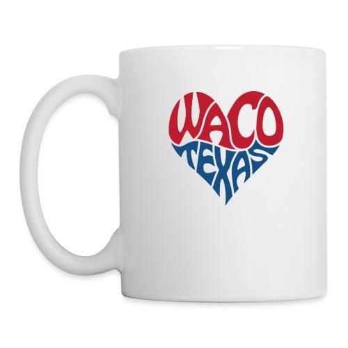 Heart of Waco Texas - Coffee/Tea Mug