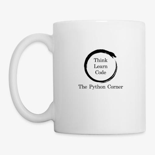 The Python Corner logo - Coffee/Tea Mug