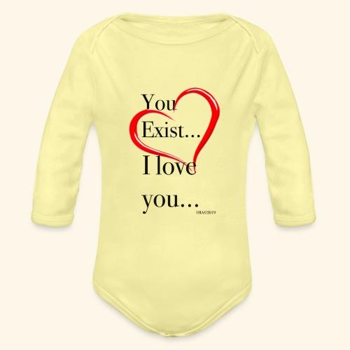Exist - Organic Long Sleeve Baby Bodysuit