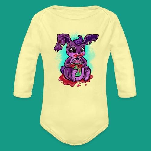 Zombunny - Organic Long Sleeve Baby Bodysuit