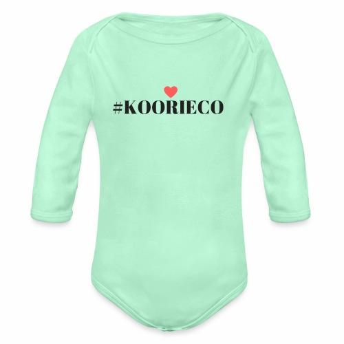 KOORIE CO - Organic Long Sleeve Baby Bodysuit