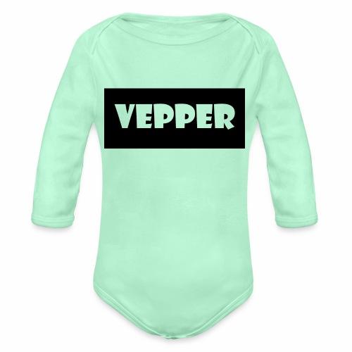 Vepper - Organic Long Sleeve Baby Bodysuit