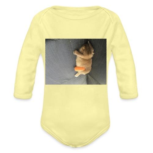 Rabbit T-Shirts - Organic Long Sleeve Baby Bodysuit