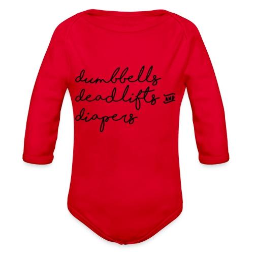 Strong Baby - Organic Long Sleeve Baby Bodysuit