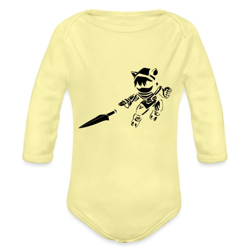 Kennen - Organic Long Sleeve Baby Bodysuit