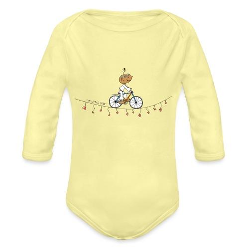 Follow your Heart - Organic Long Sleeve Baby Bodysuit