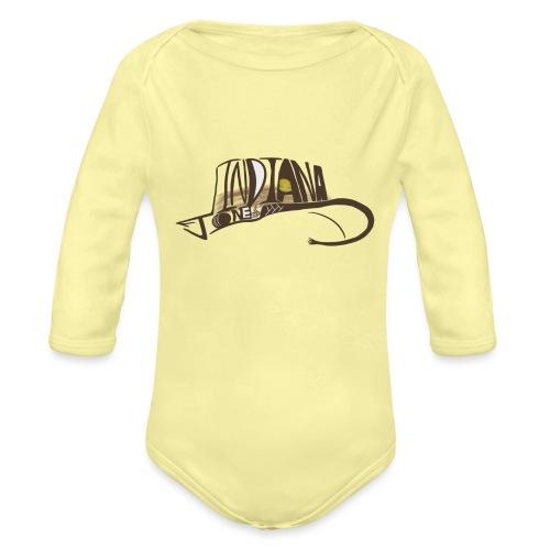 Wear The Hat - Organic Long Sleeve Baby Bodysuit
