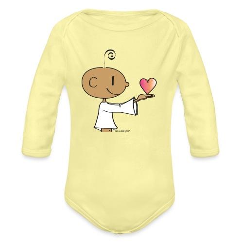 The little Yogi - Organic Long Sleeve Baby Bodysuit
