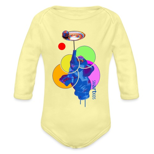 smARTkids - Mumbo Jumbo - Organic Long Sleeve Baby Bodysuit