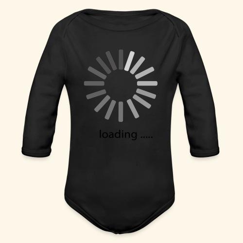 poster 1 loading - Organic Long Sleeve Baby Bodysuit