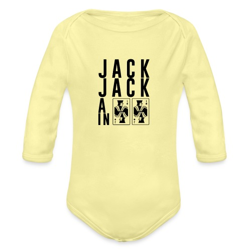 Jack Jack All In - Organic Long Sleeve Baby Bodysuit