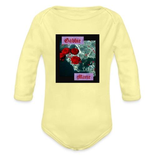 IMG 0835 - Organic Long Sleeve Baby Bodysuit
