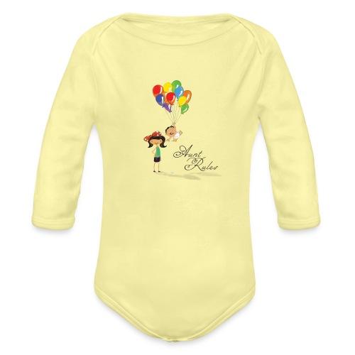 Aunt Rules - Organic Long Sleeve Baby Bodysuit